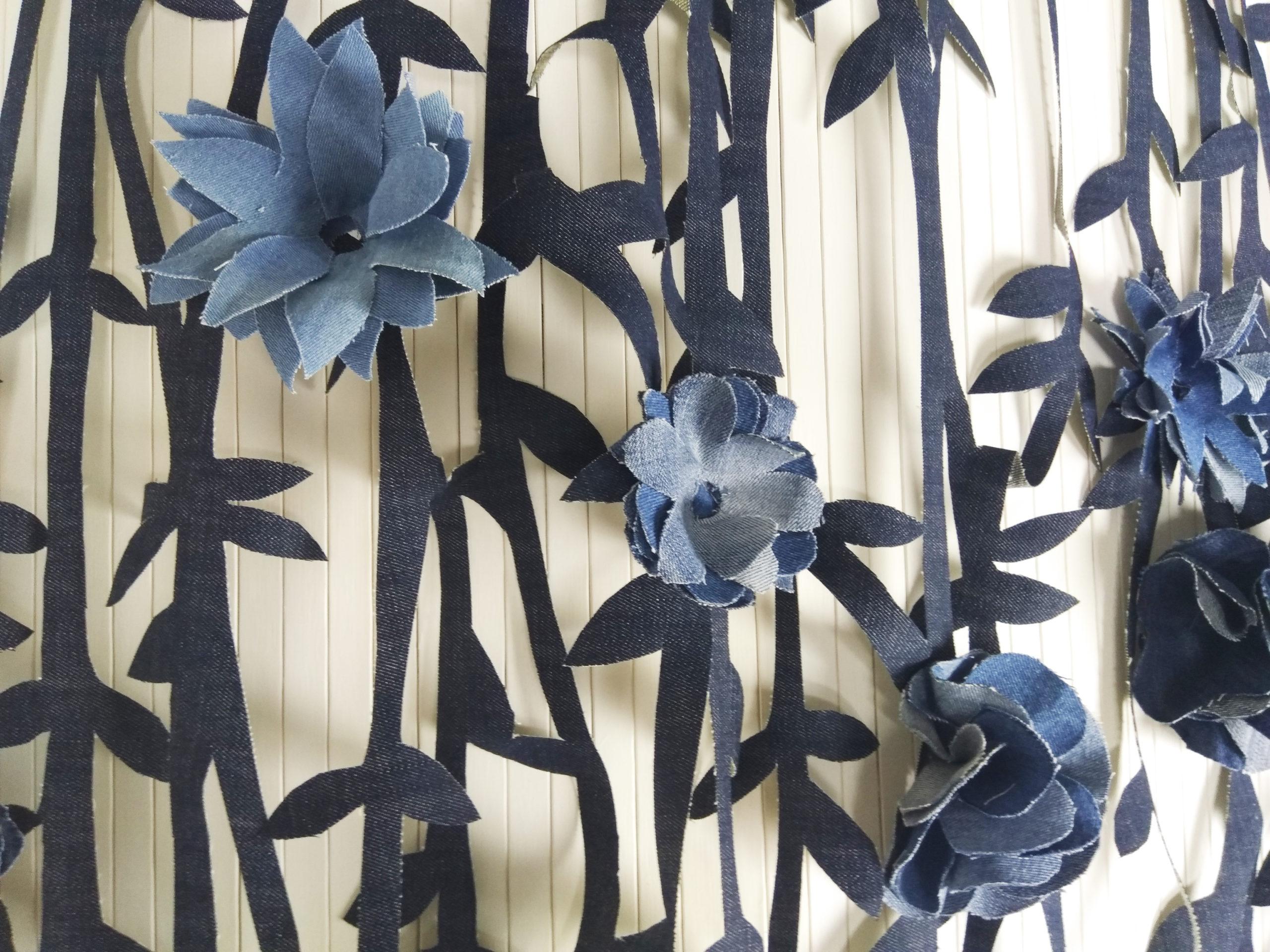 déco rideau de fleurs SMA 2020